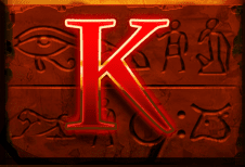 Legacy of Ra Megaways slot - K symbol