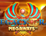 Legacy of Ra Megaways slot logo