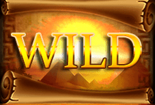 Legacy of Ra Megaways' Wild symbool