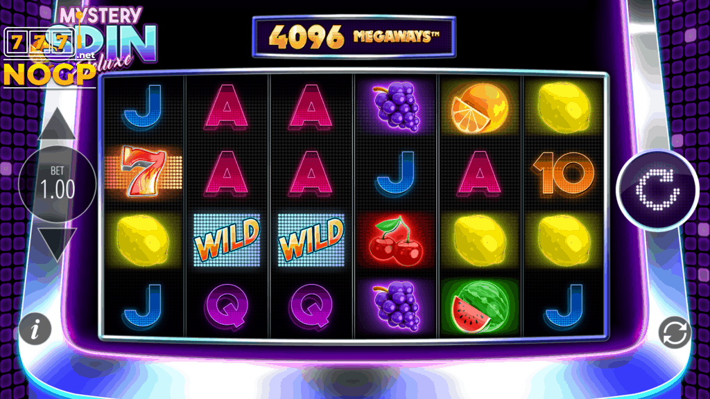 Mystery Spin Deluxe slot screenshot
