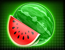 Mystery Spin Deluxe Megaways slot - Water melon symbol