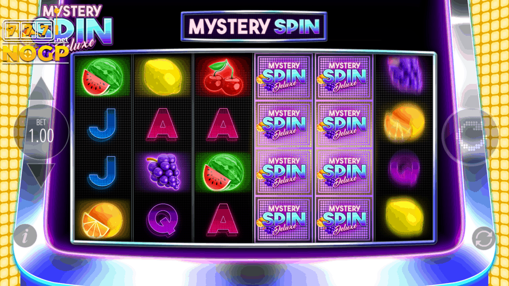 Mystery Spin Deluxe Megaways slot - Mystery spin feature