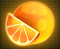 Mystery Spin Deluxe Megaways slot - Orange symbol