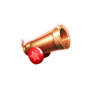 Respin Circus video slot - Cannon symbol