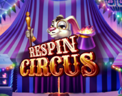 Respin Circus video slot logo