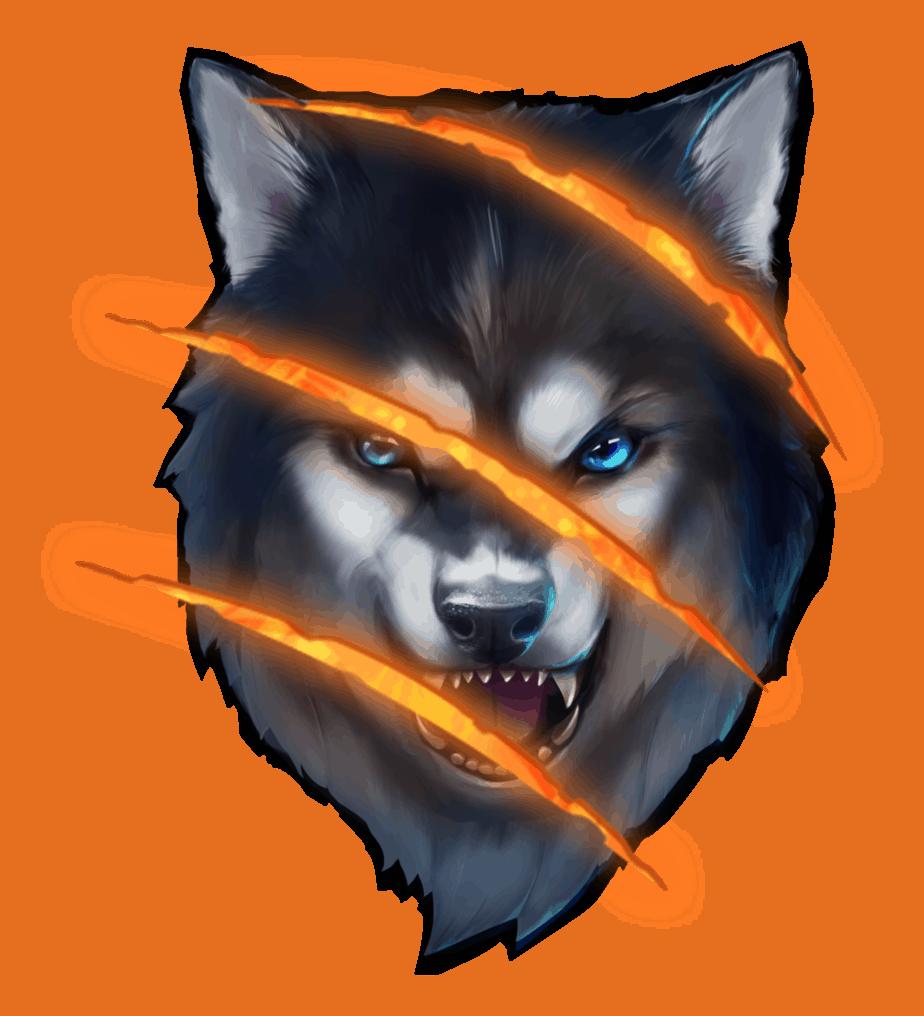 Spinsane video slot - Super Wolf symbol