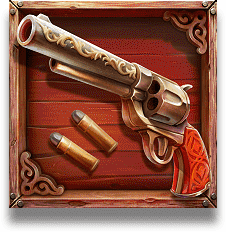 The One Armed Bandit slot - Pistol symbol