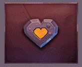 Wild Robo Factory video slot - Hearts symbol