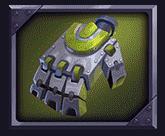 Wild Robo Factory video slot - High 3 symbol