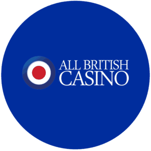 All British Casino logo round