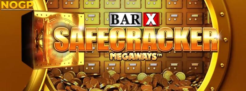 Bar X Safecracker Megaways slot logo