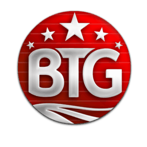 Big Time Gaming logo transparant