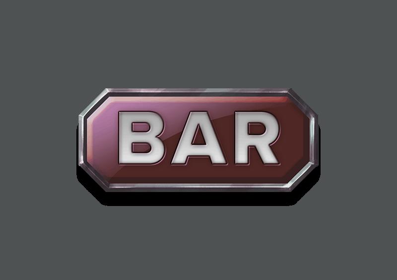 Grand Spinn video slot - Bar symbol