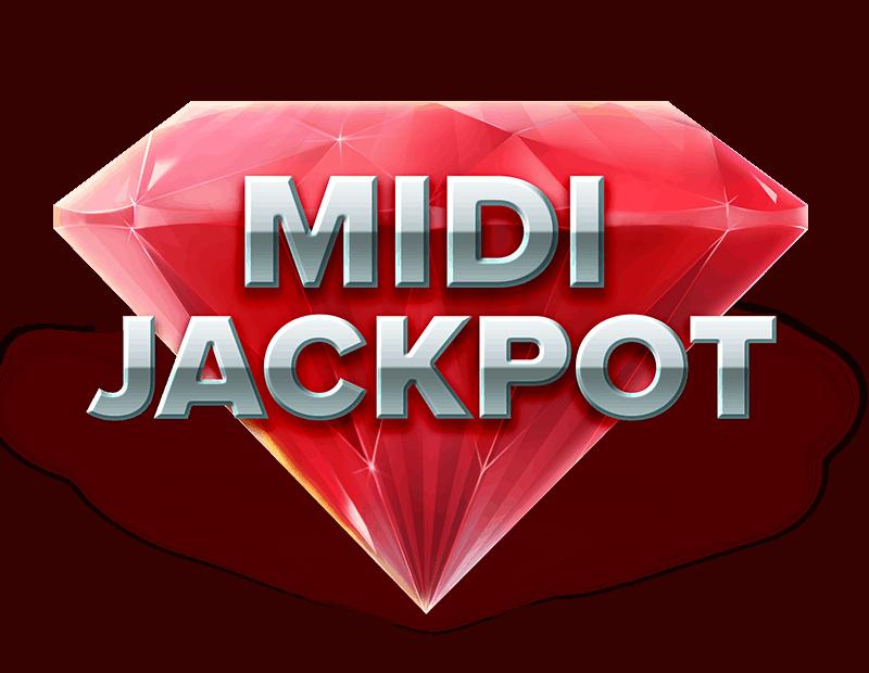 Grand Spinn video slot - Midi Jackpot symbol