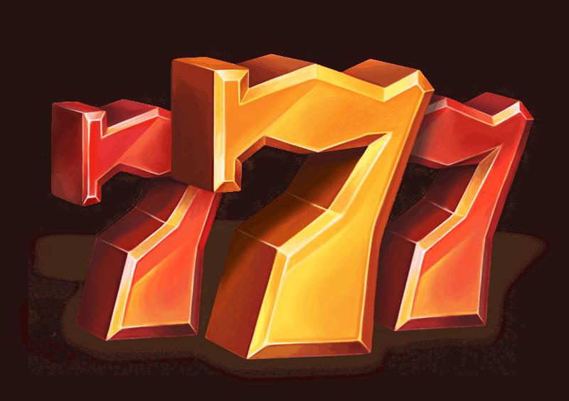 Grand Spinn video slot - Seven symbol