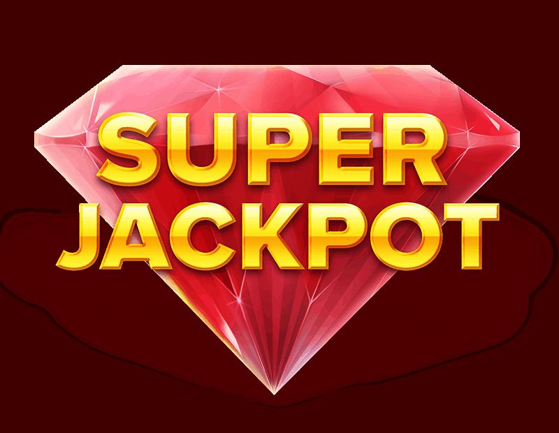 Grand Spinn Superpot video slot - Super Jackpot symbol