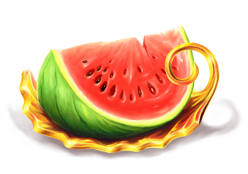 Grand Spinn video slot - Water melon symbol
