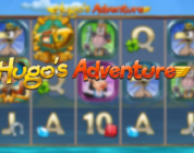 Hugos Adventure video slot logo