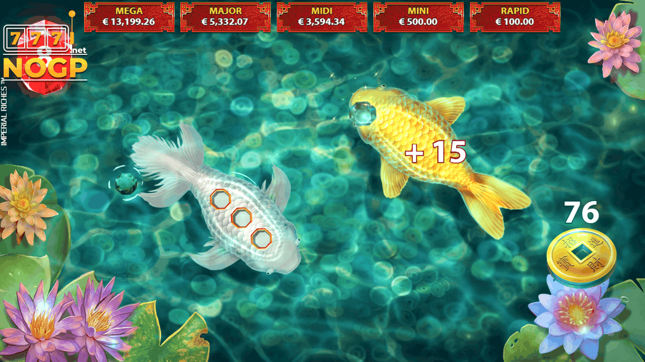 Imperial Riches video slot Lucky Pond game