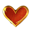 Mega Pyramid slot - Heart symbol