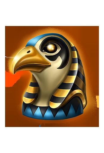 Mega Pyramid slot - Horus symbol