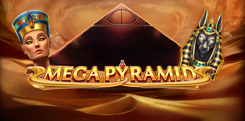 Mega Pyramid video slot logo