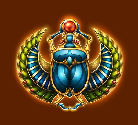 Mega Pyramid slot - Scarabee symbol