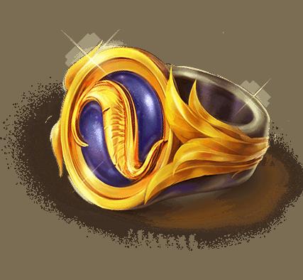 Phoenix Fire Power Reel slot - Ring symbol