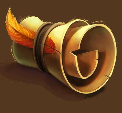 Phoenix Fire Power Reels video slot - Scroll symbol