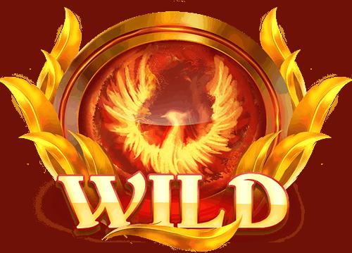 Phoenix Fire Power Reels slot - Wild symbol