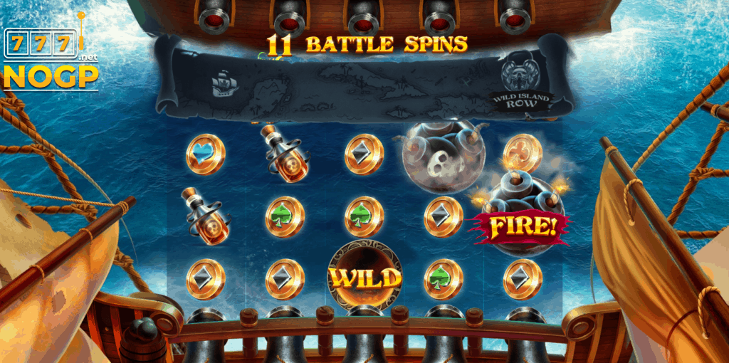 Pirates Plenty Battle for Gold video slot - Free Spins feature