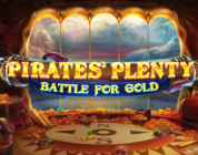 Pirates Plenty Battle for Gold video slot logo
