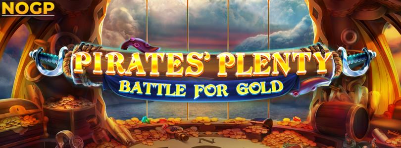 Pirates Plenty Battle for Gold video slot logo