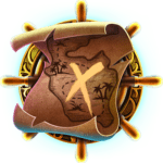 Pirates Plenty Battle for Gol video slot - Map symbol