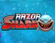 Razor Shark video slot logo