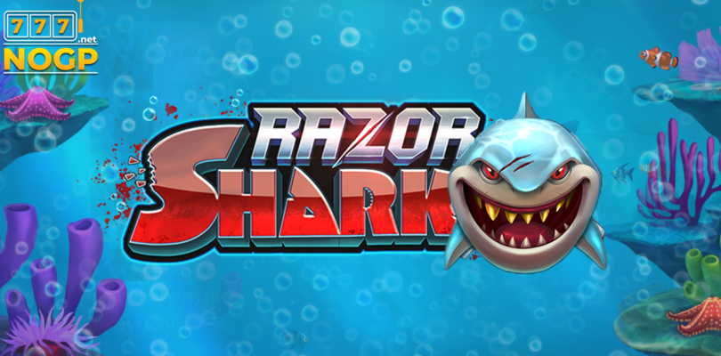 Razor Shark video slot logo