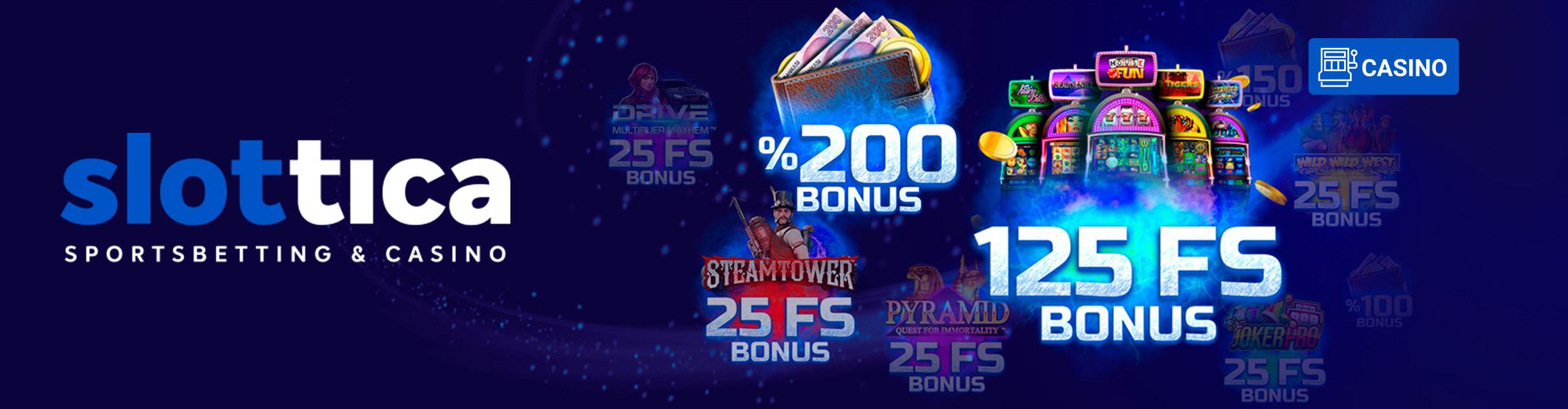 Slottica Bonus