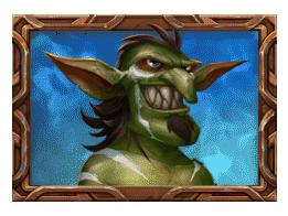 Trolls Bridge 2 video slot - Blue Troll symbol