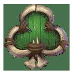 Trolls Bridge 2 video slot - Green Clubs symbol