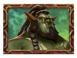 Trolls Bridge 2 video slot - Green Troll symbol