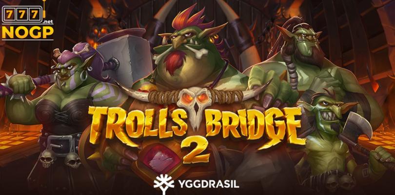 Trolls Bridge 2 video slot logo