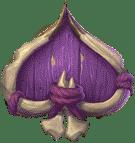 Trolls Bridge 2 video slot - Purple Spade symbol