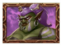 Trolls Bridge 2 video slot - Purple Troll symbol