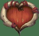 Trolls Bridge video slot - Red Heart symbol