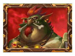 Trolls Bridge 2 video slot - Red Troll symbol