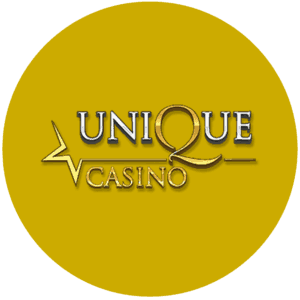 Unique Casino logo rond