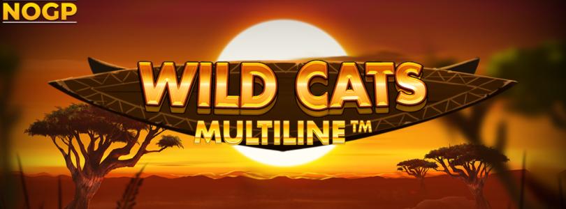 Wild Cats Multiline video slot logo