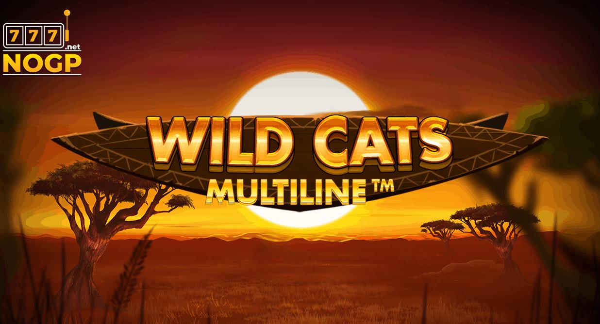 Wild Cats Multiline video slot van Red Tiger Gaming