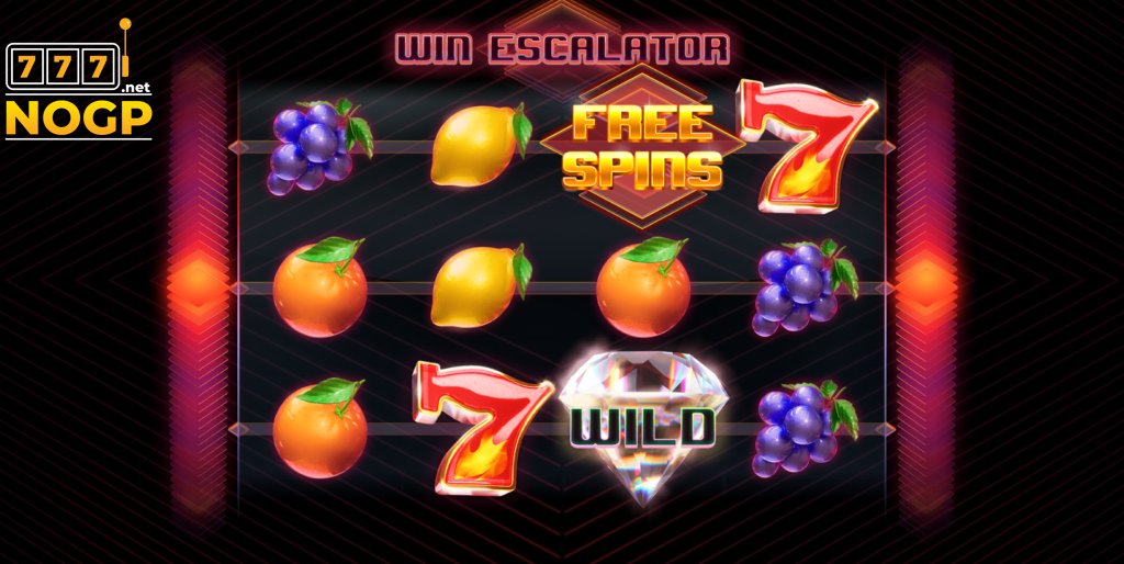 Win Escalator video slot - screenshot