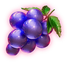 Win Escalator video slot - Grapes symbol